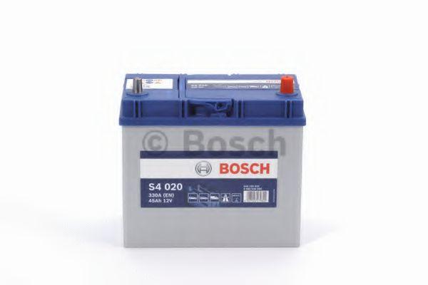 Аккумулятор Bosch S4 12V 45Ah 330A [-/+] 129x227x238  арт. 0092S40200