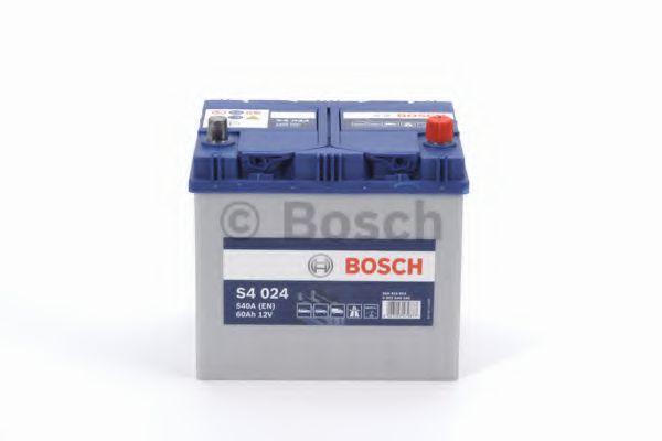 Аккумулятор   60Ah-12v BOSCH (S4024) (232x173x225),R,EN540                                            арт. 0092S40240