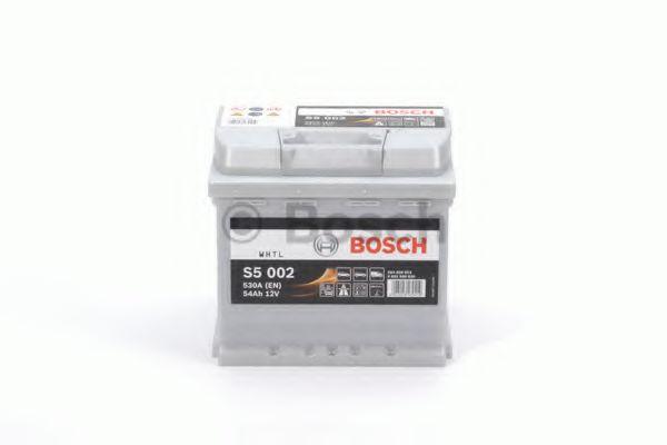 Аккумулятор  54Ah-12v BOSCH (S5002) (207x175x190),R,EN530                                             арт. 0092S50020