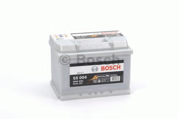 Аккумулятор   61Ah-12v BOSCH (S5004) (242x175x175),R,EN600