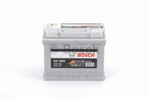 Аккумулятор   63Ah-12v BOSCH (S5005) (242x175x190),R,EN610                                            арт. 0092S50050