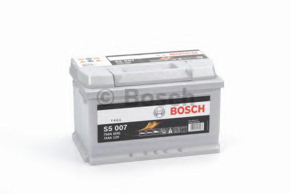 Акумулятор Bosch S5 Silver Plus 74Ah, EN750 правий + 278x175x175 (ДхШхВ)