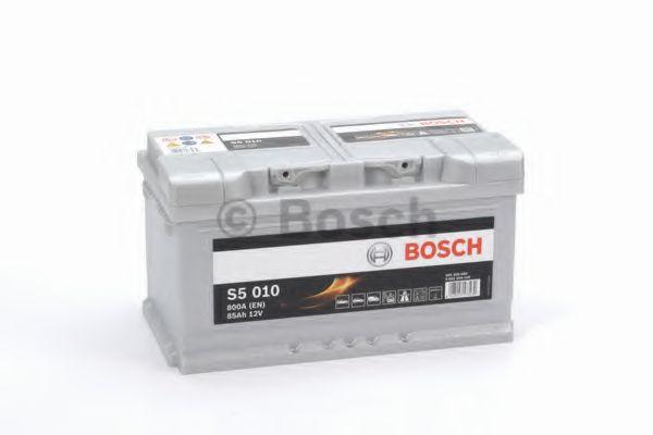 Аккумулятор   85Ah-12v BOSCH (S5010) (315x175x170),R,EN800