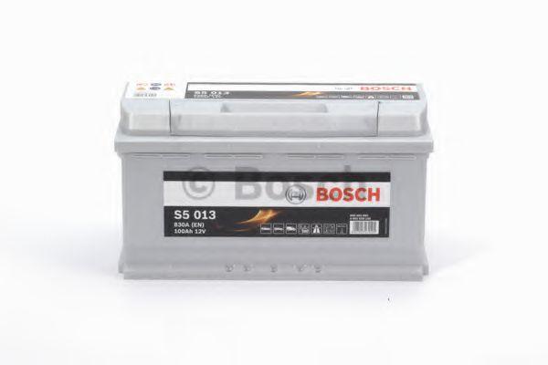 Аккумулятор  100Ah-12v BOSCH (S5013) (353x175x190),R,EN830                                            арт. 0092S50130