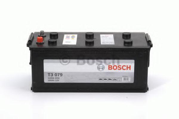 Аккумулятор  180Ah-12v BOSCH (T3079) (513x223x223),R,EN1100