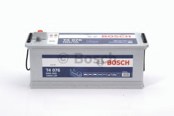 Аккумулятор  140Ah-12v BOSCH (T4076) (513x189x223),L,EN800