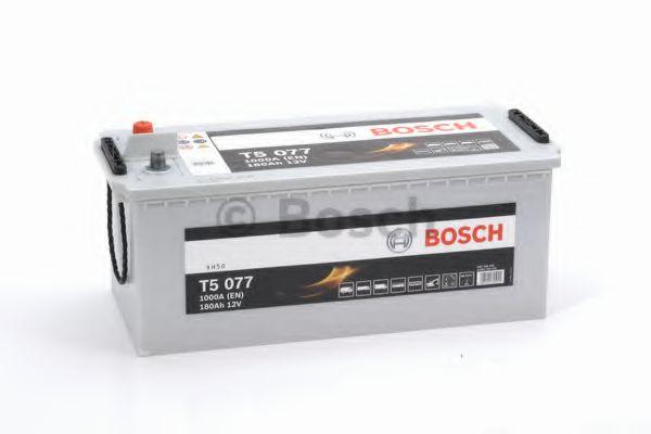 Аккумулятор  180Ah-12v BOSCH (T5077) (513x223x223),полярность обратная (3),EN1000