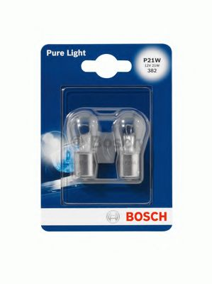 Лампа накаливания P21W 12V 21W (блистер 2 шт.) (пр-во Bosch)                                         в интернет магазине www.partlider.com