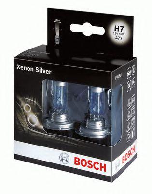 Bulb set,xenon silver,H7 x2 bosch 1987301087