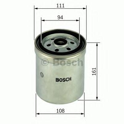 BOSCH  Фильтр топлива RENAULT VOLVO FH 03- BOSCH F026402132