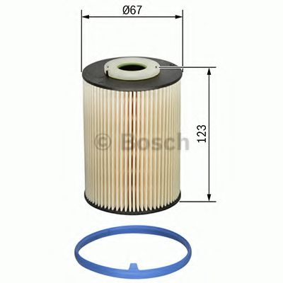 Топливный фильтр  арт. F026402829