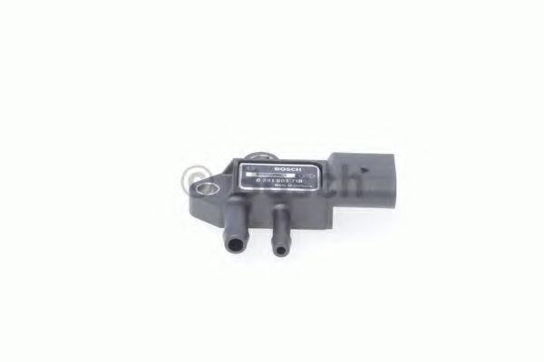 Датчик давления катализатора Caddy/Crafter/T5 (сажевого фильтра) BOSCH 0281002710