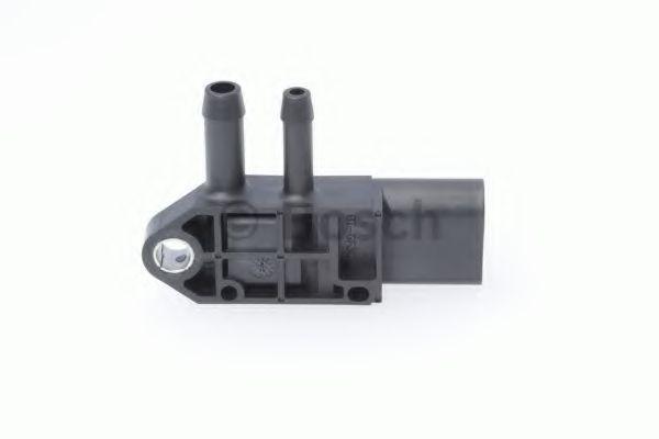 Датчик давления катализатора Caddy/T5 10- (сажевого фильтра) BOSCH 0281006082