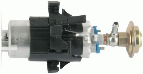 BOSCH Электро-бензонасос BMW E34 E32 (в мет.бак в корпусе с сеткой и регулятором, L=200mm) BOSCH 0580464995