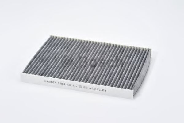 Фильтр салон SEAT, SKODA, VW (угольн.) (пр-во Bosch)                                                  арт. 1987432312