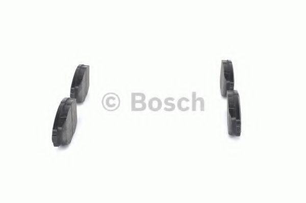 Колодка торм. DAEWOO LANOS 1.5 передн. (пр-во Bosch)                                                 BOSCH арт. 0986424512