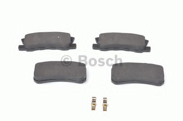 Тормозные колодки Bosch  арт. 0986424717