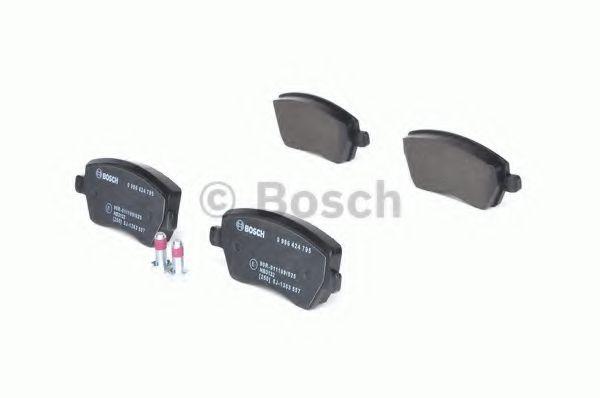 Колодка торм. NISSAN MICRA (K12), NOTE (E11) передн. (пр-во Bosch)                                   REMSA арт. 0986424795