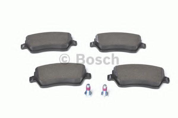 Колодка торм. NISSAN MICRA (K12), NOTE (E11) передн. (пр-во Bosch)                                    арт. 0986424795