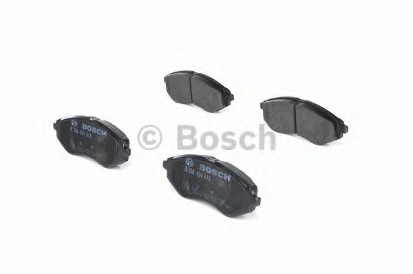 Колодка торм. CHEVROLET AVEO передн. (пр-во Bosch)                                                   REMSA арт. 0986424818