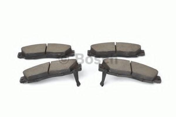 Тормозные колодки Bosch  арт. 0986461142