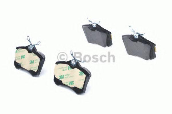 Колодка торм. AUDI A4, A6, VW GOLF IV задн. (пр-во Bosch)                                            TRW арт. 0986466683