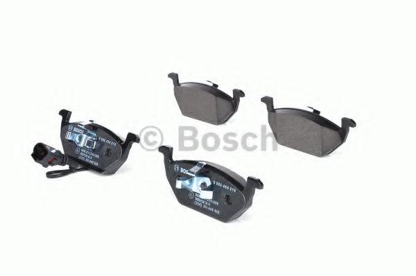 Колодка торм. AUDI,SEAT,SKODA,VW A2 (пр-во Bosch)                                                    REMSA арт. 0986494019