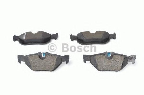 Колодка торм. BMW 1(E81,87) 05-,3(E90,91) 07-,X1(E84) 09- задн. (пр-во Bosch)                         арт. 0986494272