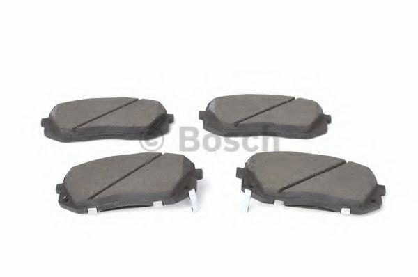 Колодки тормозные передние (пр-во Bosch)                                                              арт. 0986494422