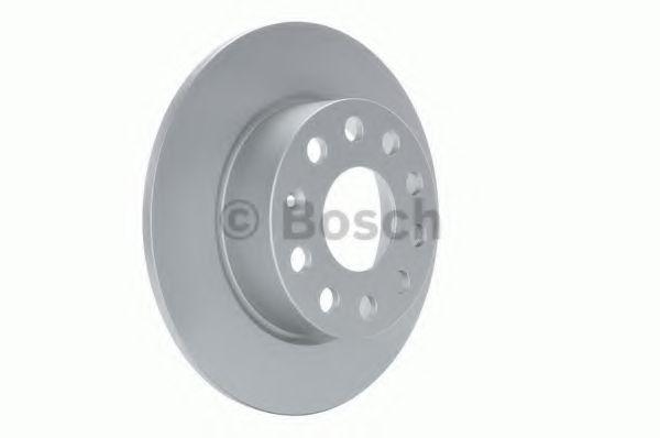 Диск тормозной SKODA YETI, VW GOLF VI задн. (пр-во Bosch)                                            JURID арт. 0986479099