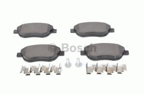 Тормозные колодки (пр-во Bosch)                                                                       арт. 0986494074