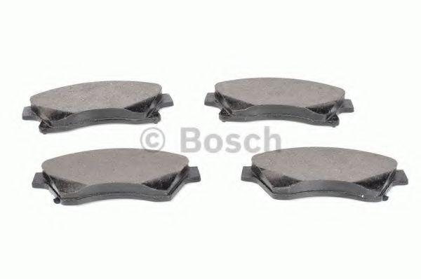 Колодка торм. CHEVROLET AVEO (T300) (03/11-) передн. (пр-во Bosch)                                    арт. 0986494433