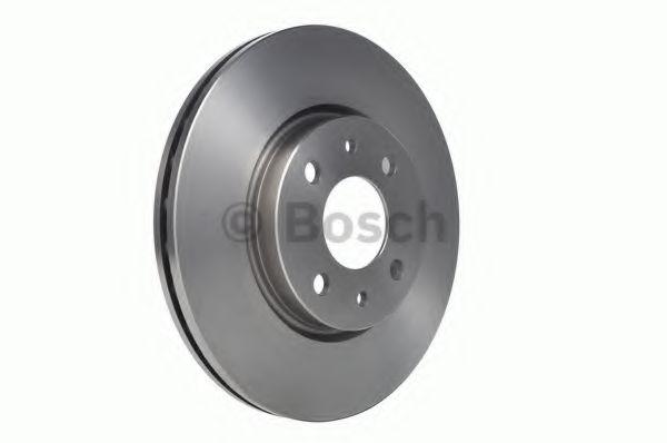 Диск тормозной FIAT LINEA, PUNTO передн., вент. (пр-во Bosch)                                         арт. 0986478639
