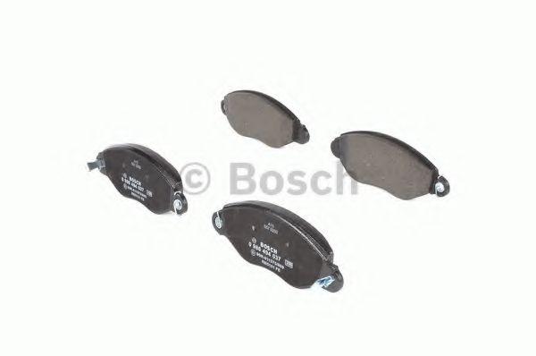 Колодка торм. FORD TRANSIT (FD, FB, FS, FZ, FC) передн. (пр-во Bosch)                                LPR арт. 0986494037