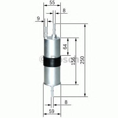 Фильтр топливный  арт. F026403754