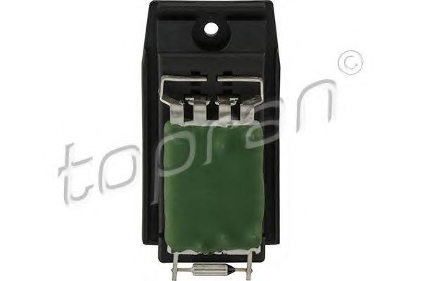 Опір, вентилятор салону TOPRAN 304208