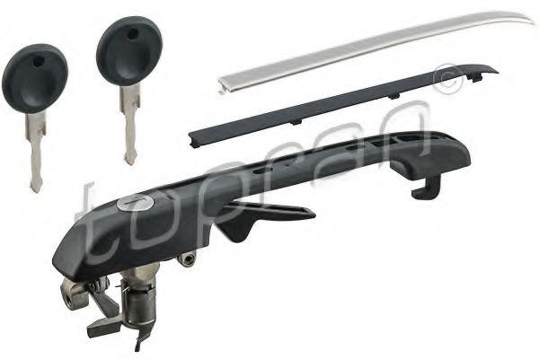 Ручка двери передн. прав. VW CADDY, GOLF II, JETTA II 12.82-11.95 TOPRAN 102879