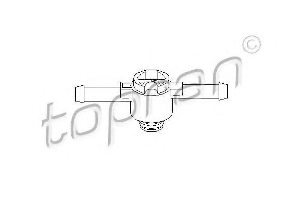 Клапан фільтру палива TOPRAN 108643