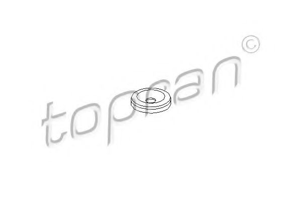 Шайба тепловой защиты, система впрыска ELRING арт. 101467