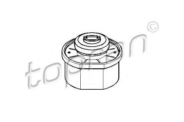 Подушка двигуна R/L VW T4 2,4D/2,5D 91-96 TOPRAN 104051