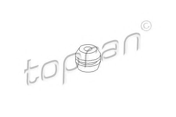 Опора двигателя TOPRAN 103009