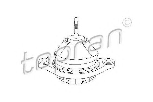 Подушка двигателя TOPRAN 107061