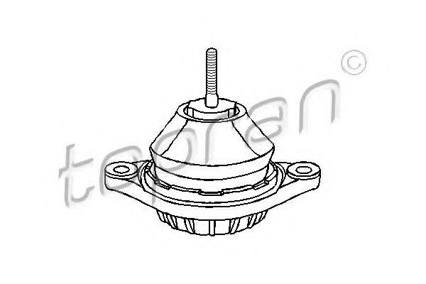 4A0199379C Подушка двиг. п/л AUDI 100 4 цил. 1,6-2,0 12/90 TOPRAN 103731