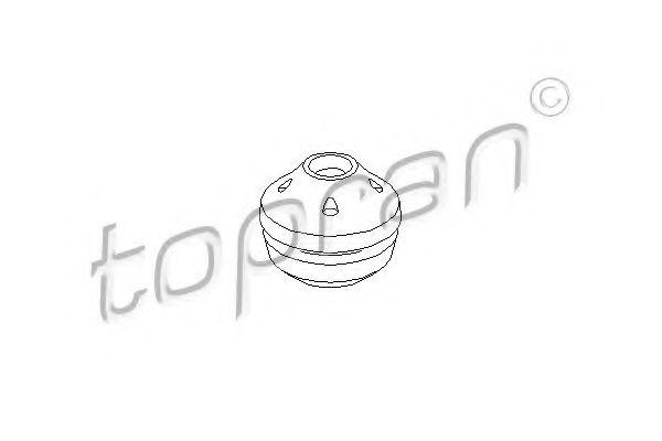 Опора КПП TOPRAN 104238