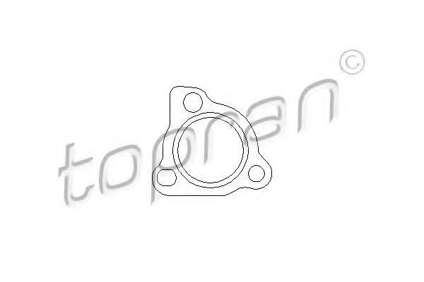 Прокладки турбокомпрессора Прокладка HANS PRIES арт. 109116