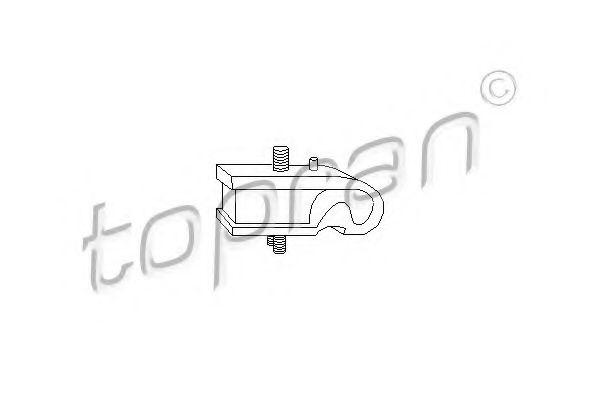 Опора КПП TOPRAN 102586