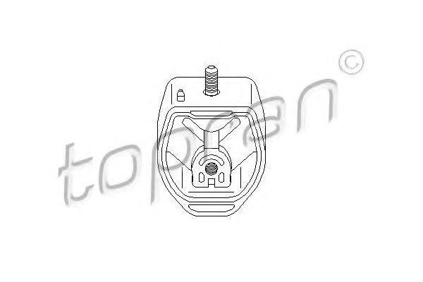 GEARBOX MOUNTING BRACKET TOPRAN 107989