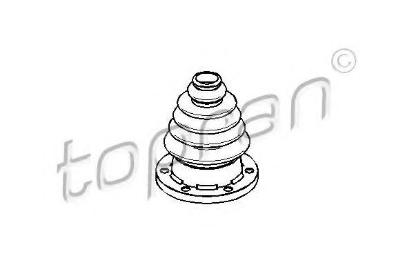 BELLOW INNER CV JOINT TOPRAN 109246