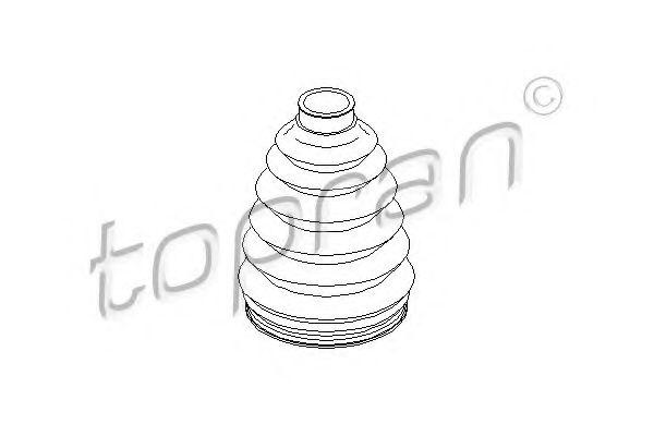 Комплект пильовиків гумових  арт. 109414