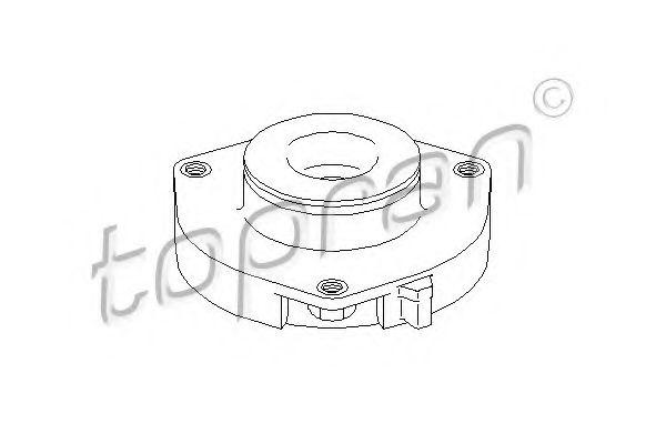 Подушка передн.амортизатора без подшип.AUDI A3, TT, SKODA OCTAVIA, VW GOLF V 03- TOPRAN 110070